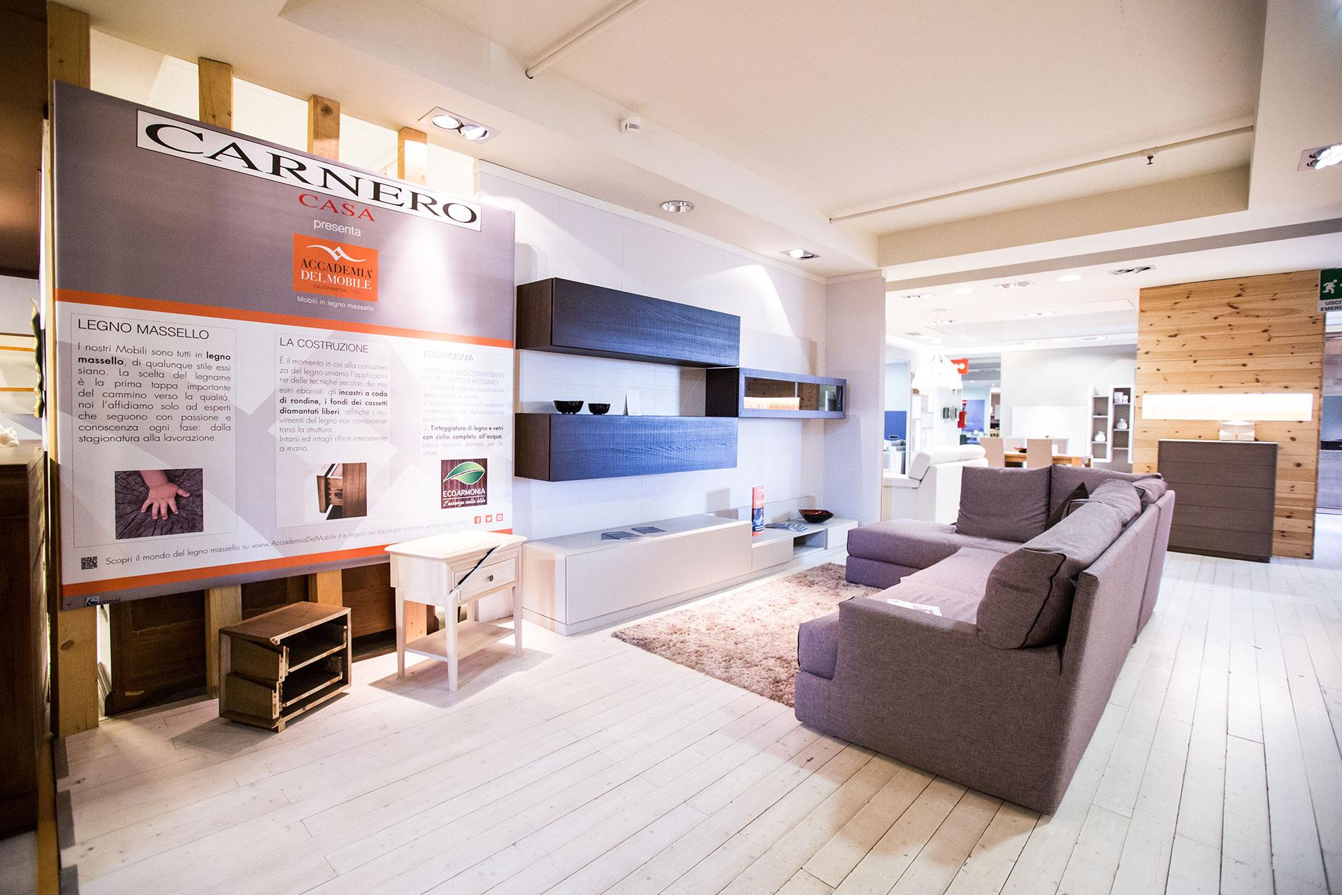 Accademia del mobile ecosfera divano valentini | Carnero Casa