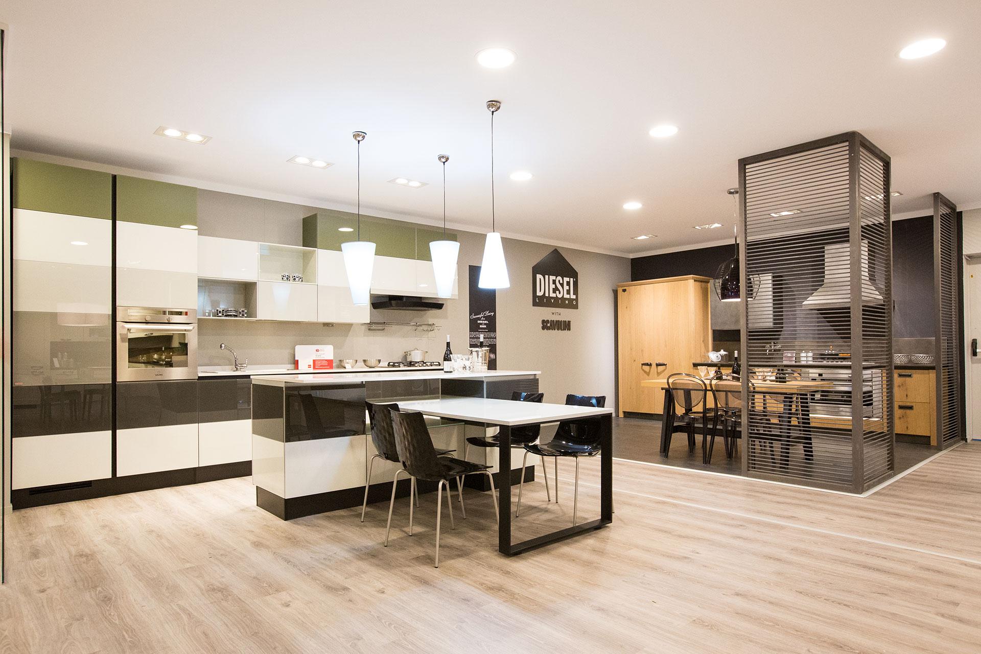 Cucina scavolini tetris e diesel | Carnero Casa