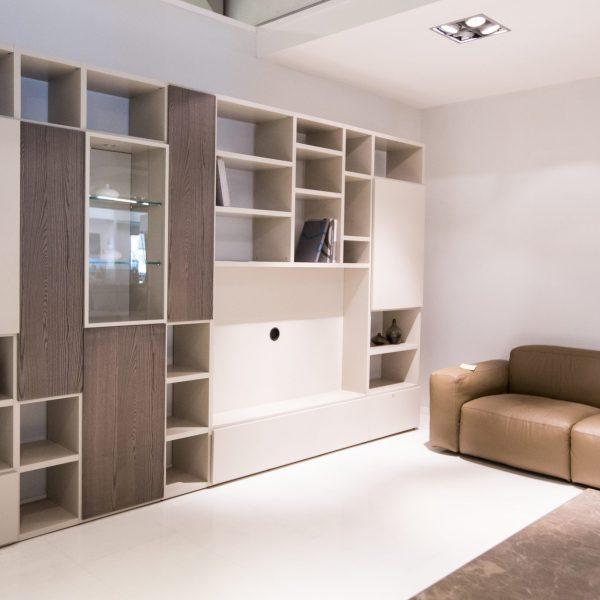 Presotto libreria porta tv pari&dispari | Carnero Casa